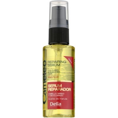 відновлююча сироватка для фарбованого та меліруваного волосся