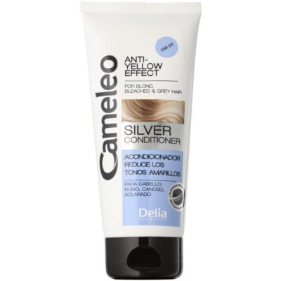 Conditioner für blonde und graue Haare neutralisiert gelbe Verfärbungen