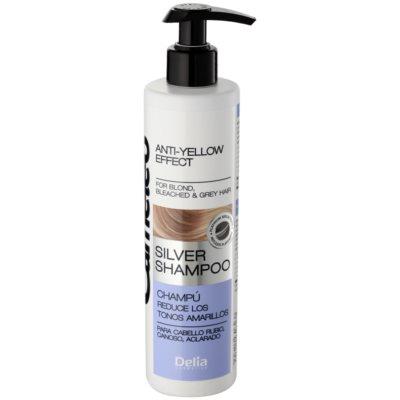 Shampoo neutralisiert gelbe Verfärbungen