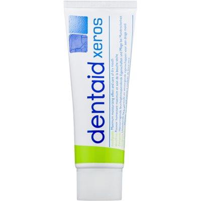 pasta dentífrica para el síndrome de la boca seca (xerostomía)