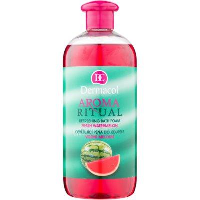 espuma de banho refrescante