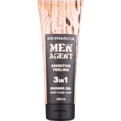 Dermacol Men Agent Sensitive Feeling Shower Gel 3 In 1