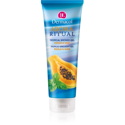 gel douche tropical