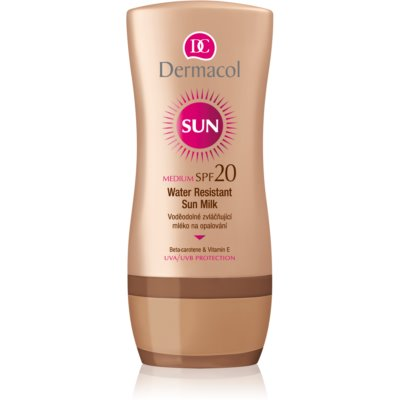 Dermacol Sun Water Resistant lait solaire waterproof SPF 20