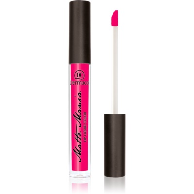 Dermacol Matte Mania matte vloeibare lipstick