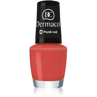 Dermacol Mini Summer Collection vernis à ongles teinte 05 Punk Red 5 ml