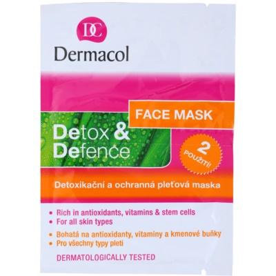 schützende Hautmaske mit Detox-Wirkung für alle Hauttypen