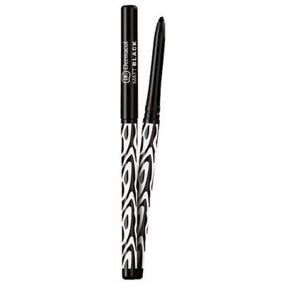 Dermacol Black Sensation Matt Black crayon yeux