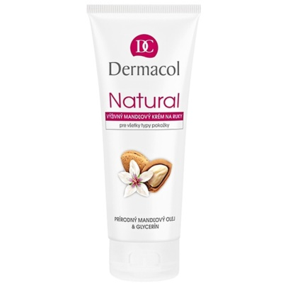 Nourishing Almond Cream On Hands And Nails