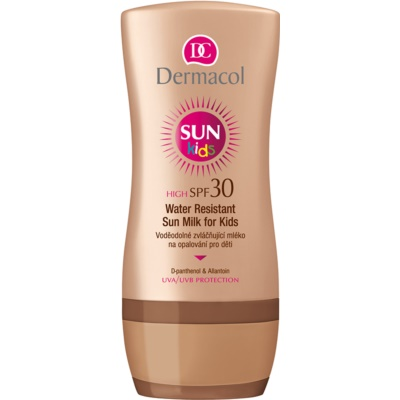 Dermacol Sun Water Resistant Waterproof Sunscreen Lotion for Kids SPF 30