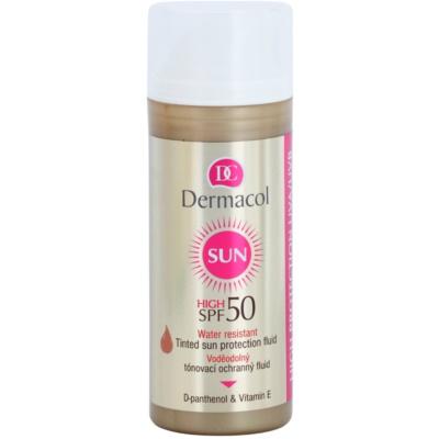 Dermacol Sun Water Resistant Waterproof Skin Toning Fluid SPF 50