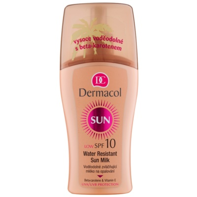 lait solaire waterproof SPF 10