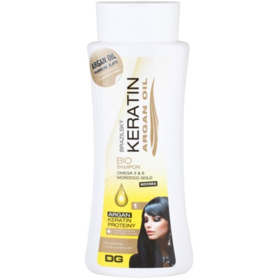 bio šampon pro barvené a poškozené vlasy