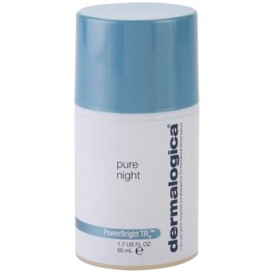 Nourishing And Brightening Night Cream For Skin With Hyperpigmentation