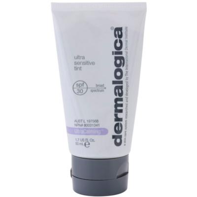 ochranný tónovací krém bez chemických filtrů SPF 30