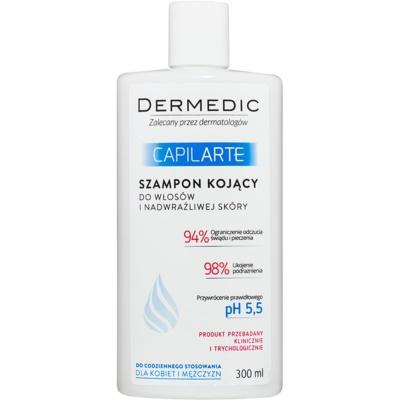 kojący szampon do skóry wrażliwej