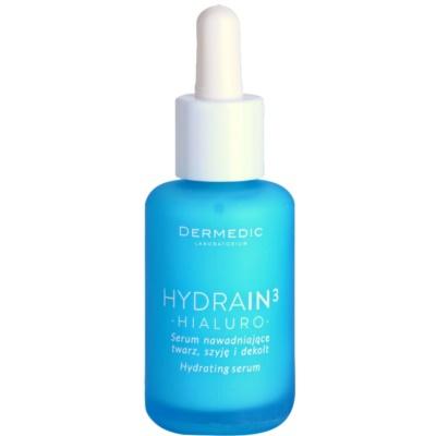 nawilżające serum do twarzy do skóry suchej i bardzo suchej