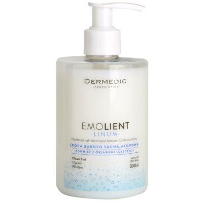 mydlo na ruky pre ochranu lipidovej bariéry