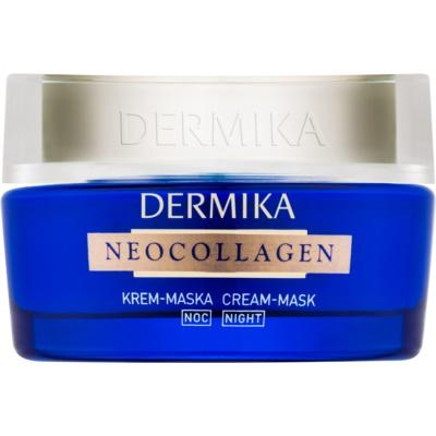 mascarilla de noche en crema para regenerar la piel y reducir las arrugas