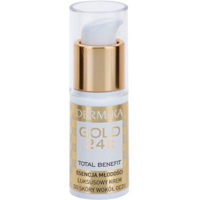 Luxurious Rejuvenating Cream Around Eyes