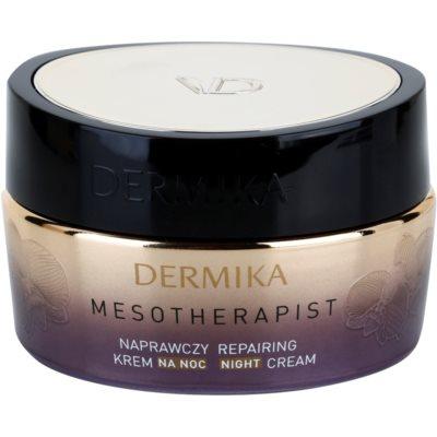 crema de noche reparadora  para pieles maduras