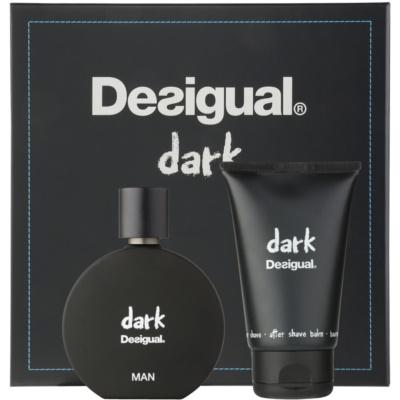 Desigual Dark poklon set I.  parfemska voda 100 ml + balzam poslije brijanja 100 ml