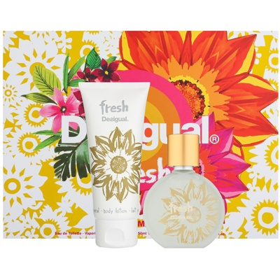 Desigual Fresh Gift Set  II.  Eau de Toilette 50 ml + Body Lotion  100 ml