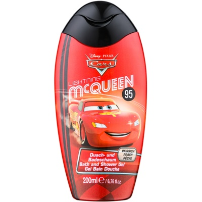 Disney Cosmetics Cars pěna do koupele a sprchový gel 2 v 1