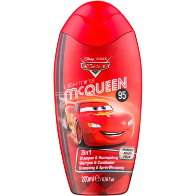 Disney Cosmetics Cars σαμπουάν και κοντίσιονερ 2 σε 1