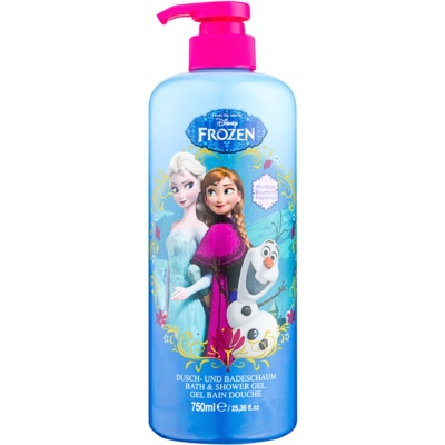 Disney Cosmetics Frozen pěna do koupele a sprchový gel 2 v 1