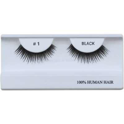 Stick-On Eyelashes From Human Hair