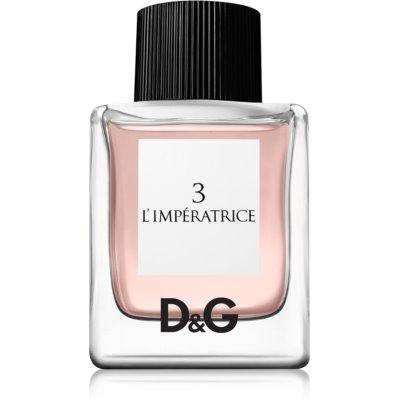 Dolce & Gabbana 3 L'Imperatrice Eau de Toilette para mulheres