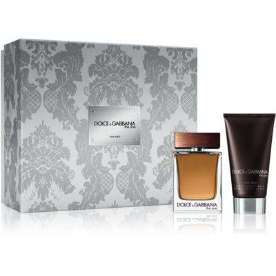 Dolce & Gabbana The One for Men set cadou I. Apa de Toaleta 50 ml + After Shave Balsam 75 ml