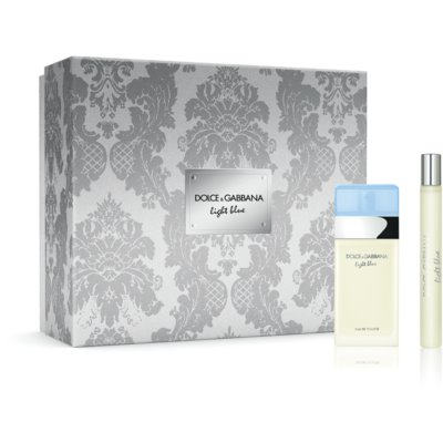 Dolce & Gabbana Light Blue coffret cadeau X. eau de toilette 25 ml + eau de toilette 10 ml