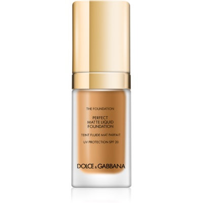 Dolce & Gabbana The Foundation Perfect Matte Liquid Foundation tekoči puder za mat videz