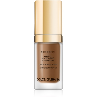 Dolce & Gabbana The Foundation Perfect Matte Liquid Foundation make-up matt hatásért