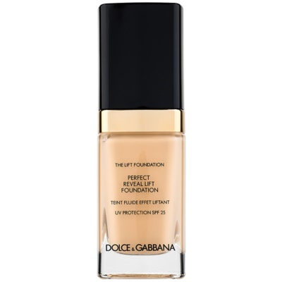 Dolce & Gabbana The Foundation The Lift Foundation make-up liftinges hatással SPF 25