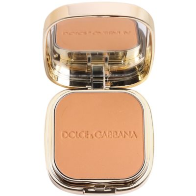 Dolce & Gabbana The Foundation Perfect Matte Powder Foundation base em pó matificante com espelho e aplicador