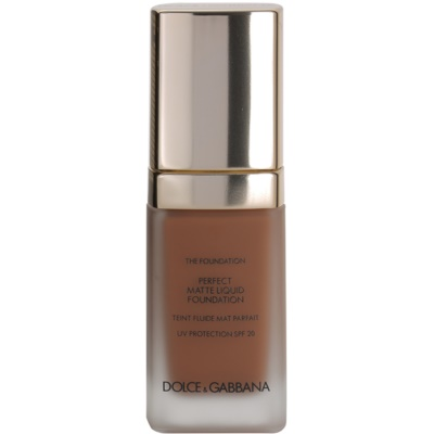 Dolce & Gabbana The Foundation Perfect Matte Liquid Foundation Foundation  voor Matte Uitstraling