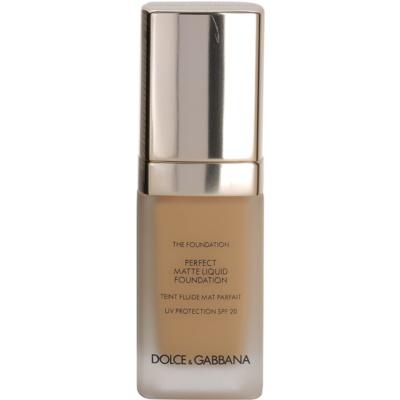 Dolce & Gabbana The Foundation Perfect Matte Liquid Foundation Foundation for a Matte Look