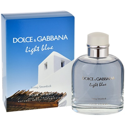 Dolce & Gabbana Light Blue Pour Homme Living Stromboli Eau de Toilette for Men
