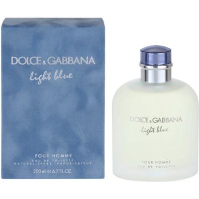 Dolce & Gabbana Light Blue Pour Homme eau de toilette pour homme