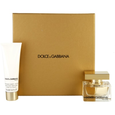 Dolce & Gabbana The One poklon set IX.