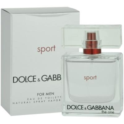 Dolce & Gabbana The One Sport Eau de Toilette für Herren