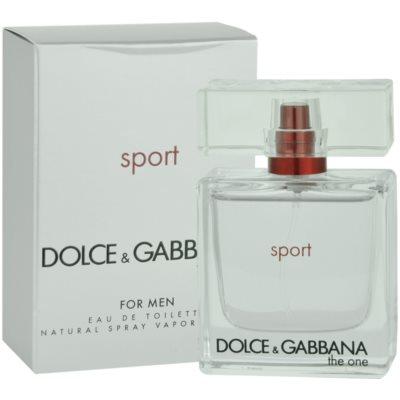 Dolce & Gabbana The One Sport eau de toilette férfiaknak