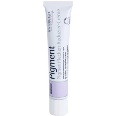 дерматологичен нощен крем за намаляване на пигментни петна