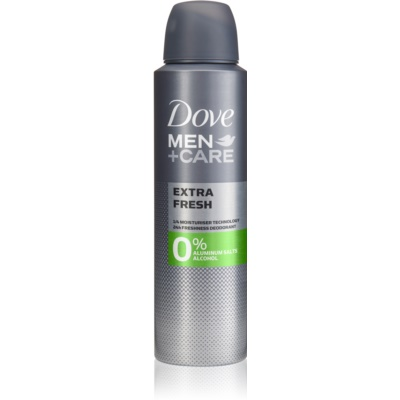 Dove Men+Care Extra Fresh desodorante sin alcohol ni aluminio 24h