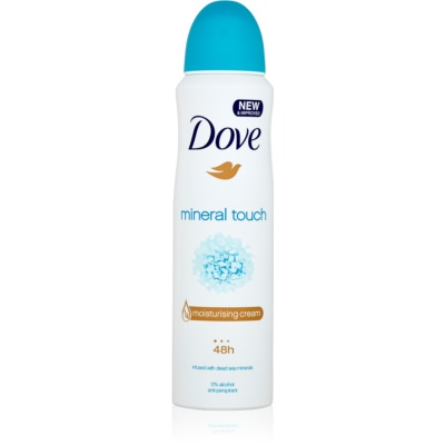 Dove Mineral Touch antiperspirant ve spreji