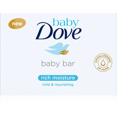 Dove Baby Rich Moisture Creamy Tablet for Washing