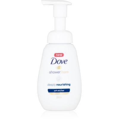 Duschschaum mit nahrhaften Effekt